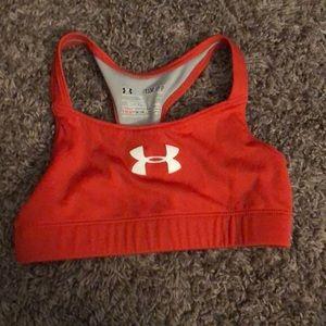 girls under armour sports bra